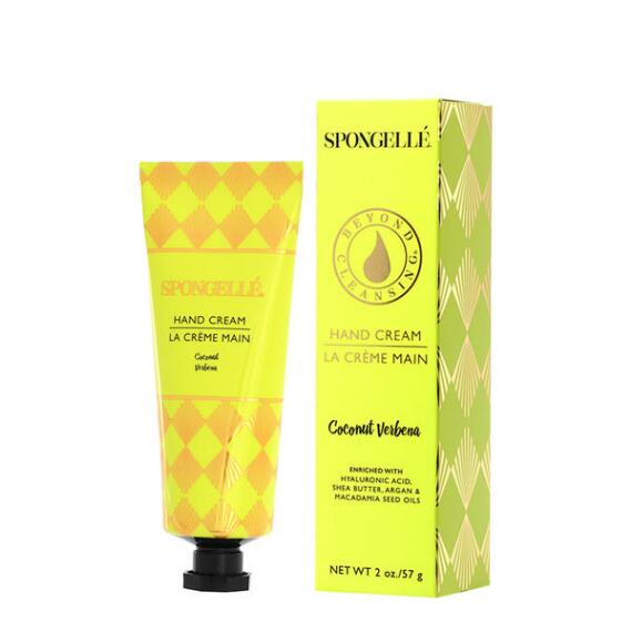 Spongelle Hand Cream - Coconut Verbena