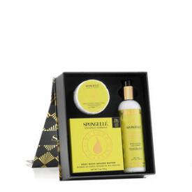 Spongelle Beach Coconut Verbena Treatment Gift Set