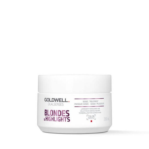 Goldwell Dualsenses Blondes & Highlights Brilliance 60 Sec Treatment