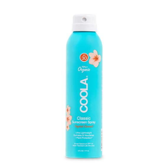 Coola Classic Body Organic Sunscreen Spray SPF 30 - Tropical Coconut