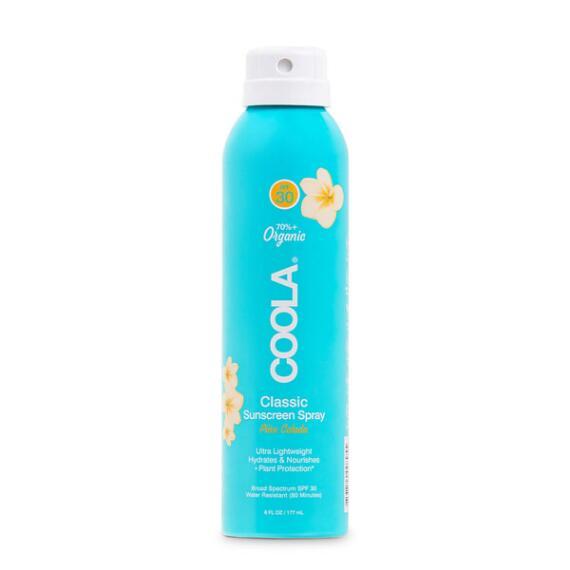 Coola Classic Body Organic Sunscreen Spray SPF 30 - Pina Colada