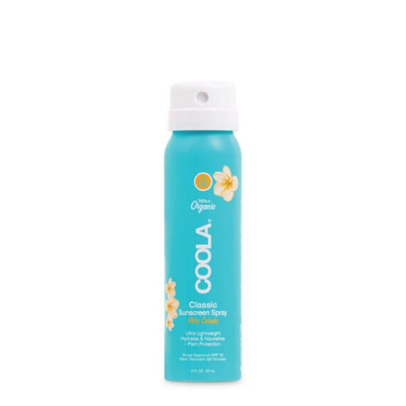 Coola Classic Body Organic Sunscreen Spray SPF 30 Travel Size - Pina Colada