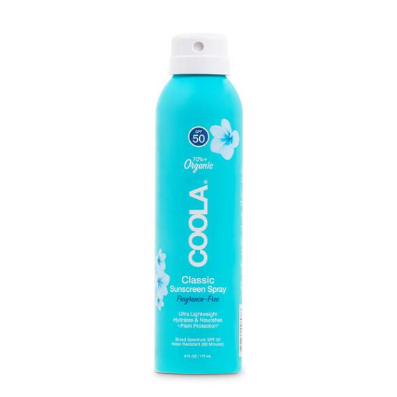 Coola Classic Body Organic Sunscreen Spray SPF 50 - Unscented