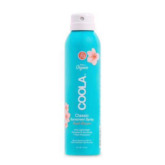 Coola Classic Body Organic Sunscreen Spray SPF 70 - Peach Blossom