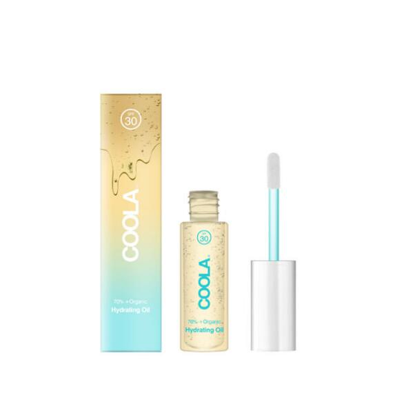 Coola Classic Liplux Organic Hydrating Lip Oil Sunscreen SPF 30