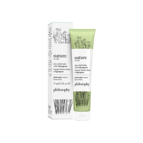 Philosophy Nature In A Jar Balm Mask with Wheatgrass