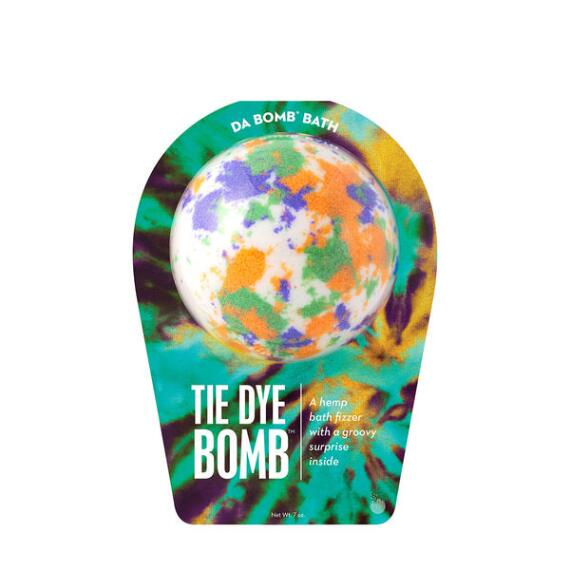Da Bomb Tie Dye White Bath Bomb