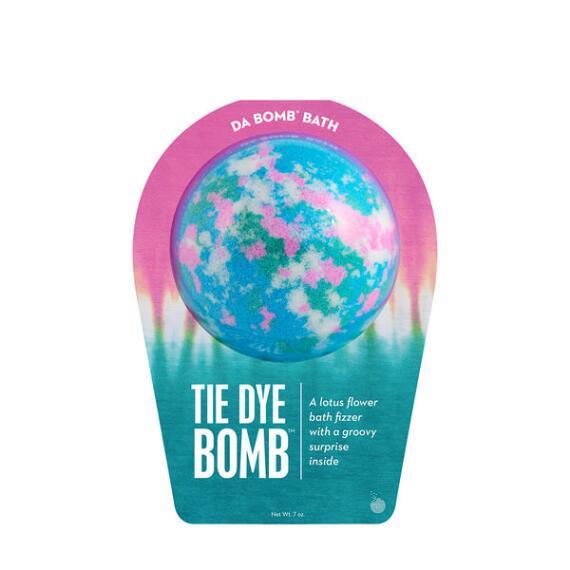 Da Bomb Tie Dye Blue Bath Bomb