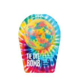 Da Bomb Tie Dye Yellow Bath Bomb
