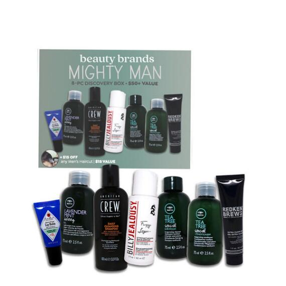 Beauty Brands Mighty Man 8-Pc Discovery Box