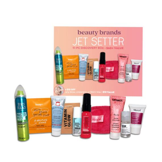 Beauty Brands Jetsetter 11-Pc Discovery Box
