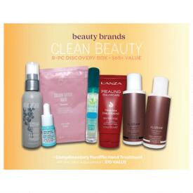 Beauty Brands Clean Beauty 8-Pc Discovery Box