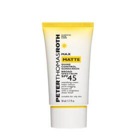 Peter Thomas Roth Max Matte Shine Control Sunscreen Broad Spectrum SPF 45