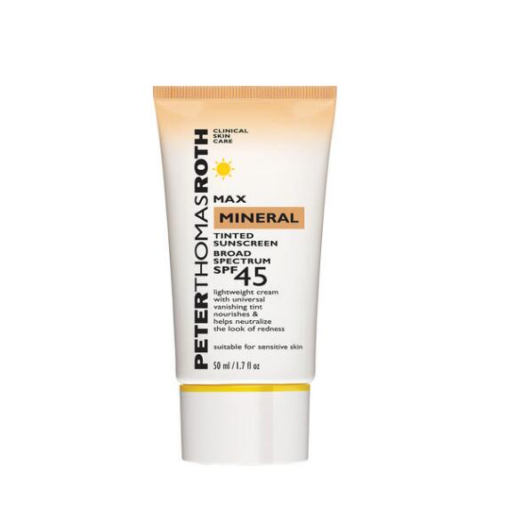 Peter Thomas Roth Max Mineral Tinted Sunscreen Broad Spectrum SPF 45