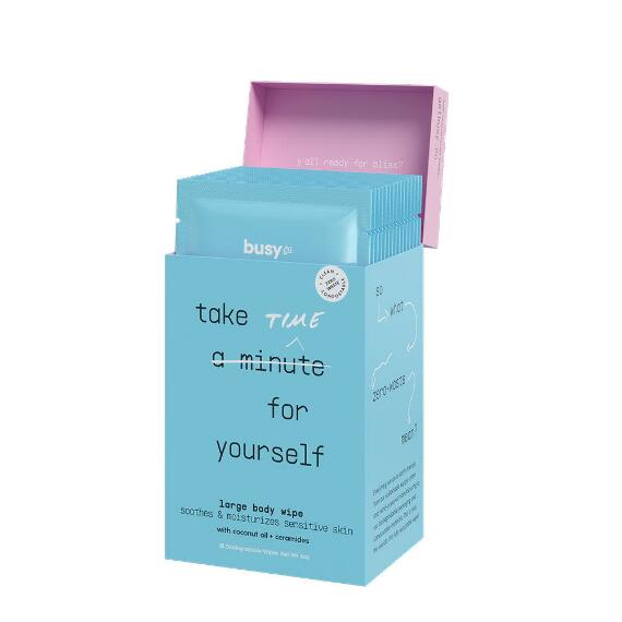 Busy Co. Calm Soothing Body Cleansing Cloths