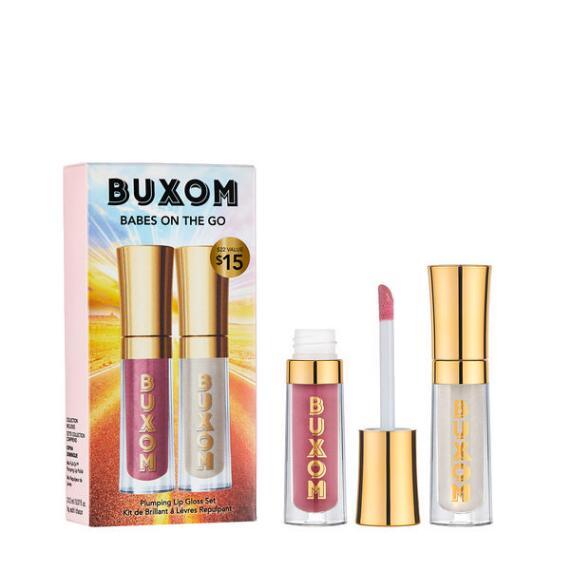 Buxom Babes On The Go Full On Plumping Lip Polish Set
