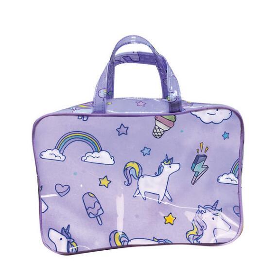iscream Unicorn Wishes Large Cosmetic Bag