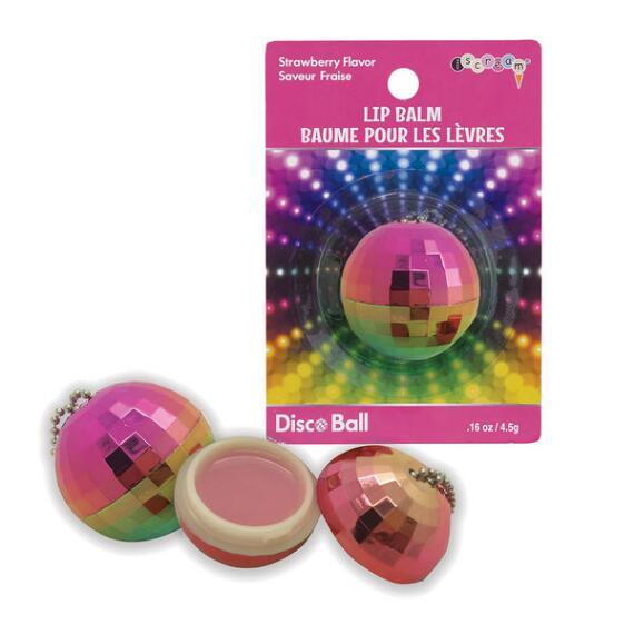 iscream Disco Ball Lip Balm