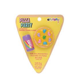 iscream Pizza Party Lip Balm Set