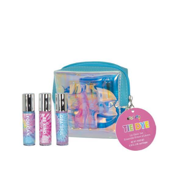 iscream Tie Dye Mini Lip Gloss Set
