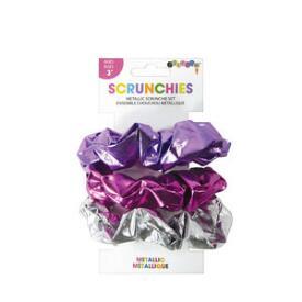 iscream Metallic Scrunchie Set
