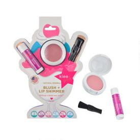 klee kids Naturals Blush and Lip Shimmer Duo - Sweet Cherry
