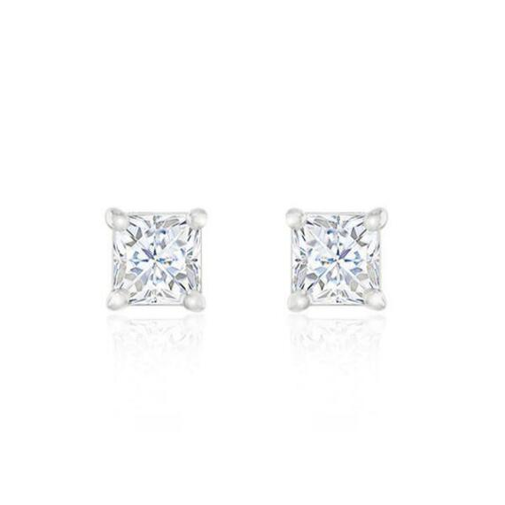 Zaxie Square Stone Earring