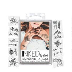 INKED by Dani Henna Inspired Temporary Tattoo Pack