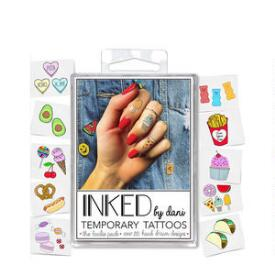 INKED by Dani Foodie Temporary Tattoo Pack