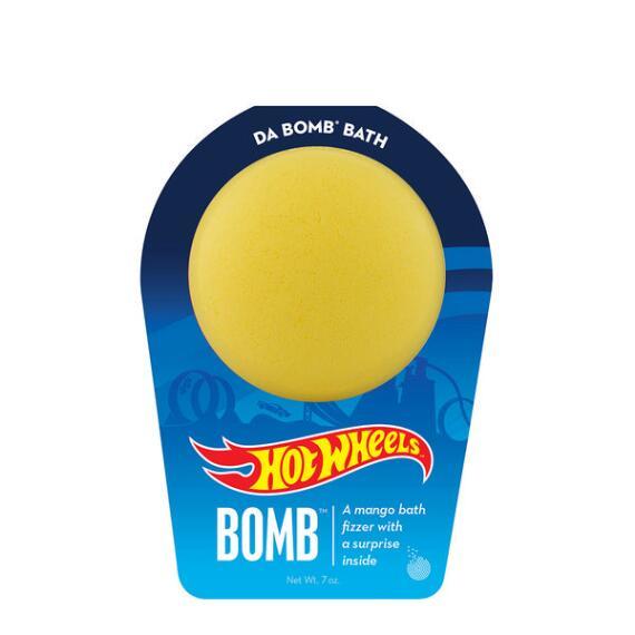 Da Bomb Hot Wheels Yellow Bath Bomb