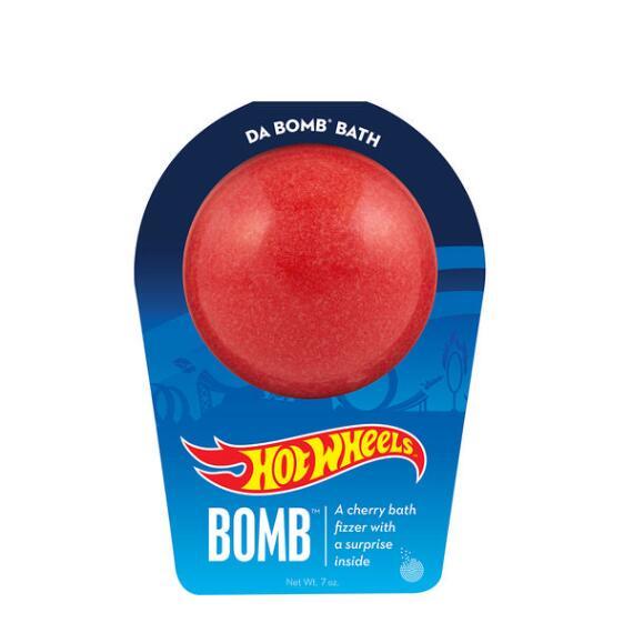 Da Bomb Hot Wheels Red Bath Bomb
