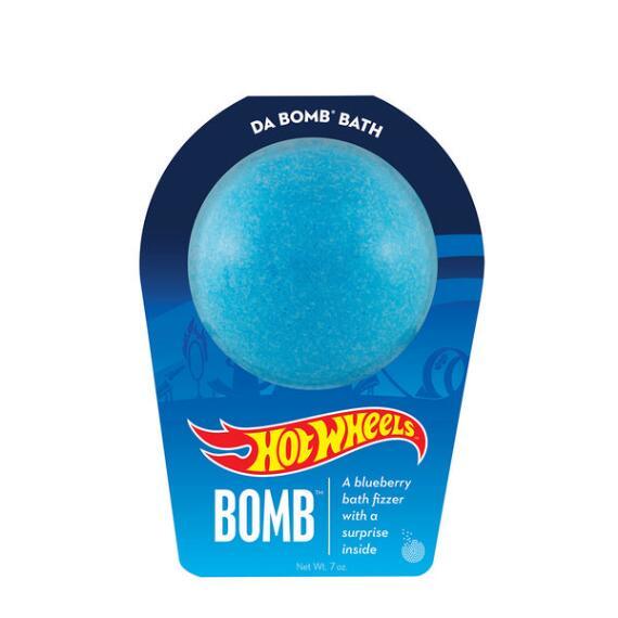 Da Bomb Hot Wheels Blue Bath Bomb