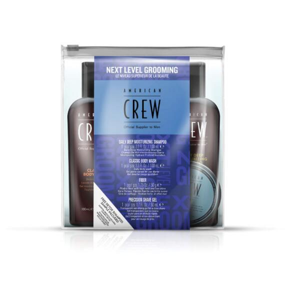 American Crew Next Level Grooming 4pc Fathers Day Set