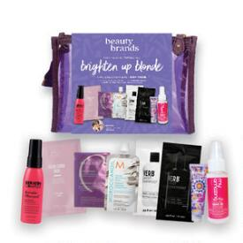 Beauty Brands Brighten Up Blonde 9-PC Discovery Bag