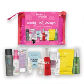 Beauty Brands Ready, Set, Escape 14-PC Discovery Bag