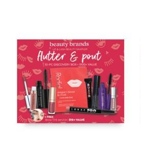 Beauty Brands Flutter & Pout 10-PC Discovery Box