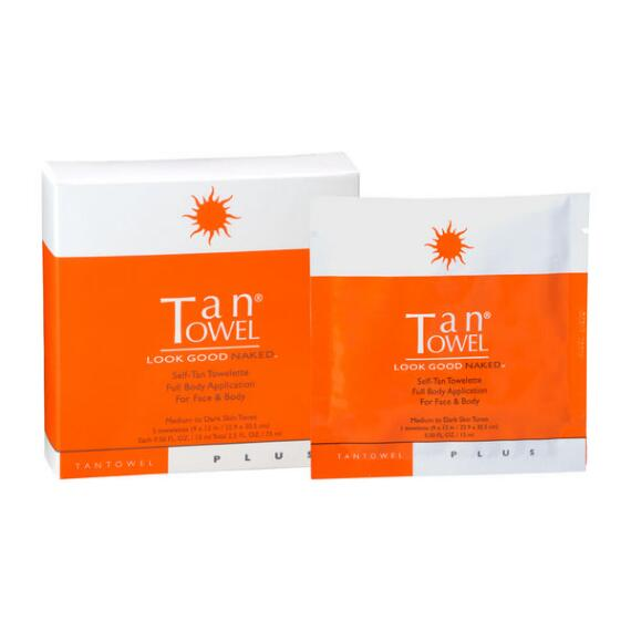 TanTowel Full Body Plus - 5-Pack