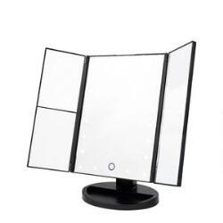 Danielle Trifold LED Mirror