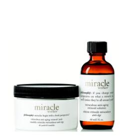 philosophy miracle worker anti-aging retinoid pads and solution