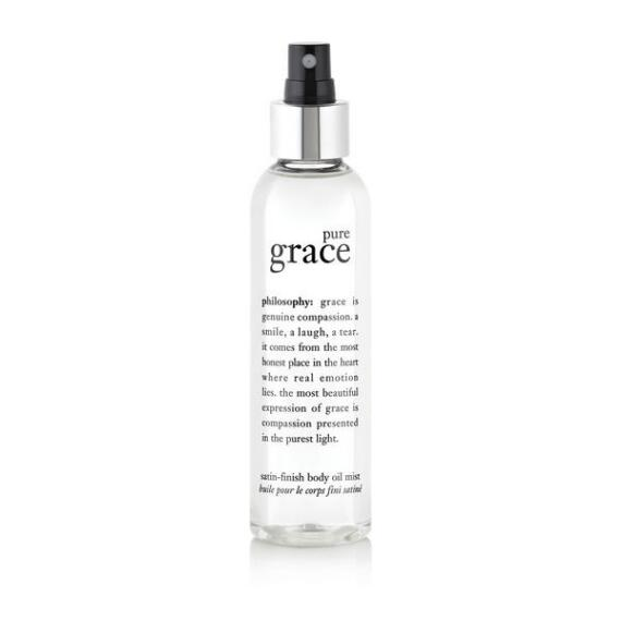 philosophy pure grace satin-finish body oil mist