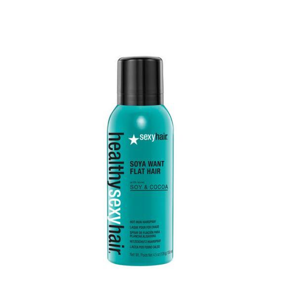 Sexy Hair Healthy Sexy Hair Soya Want Flat Hair Flat Iron Spray