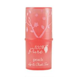 100% Pure Lip and Cheek Tint