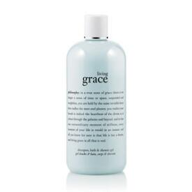 philosophy living grace shampoo, bath & shower gels