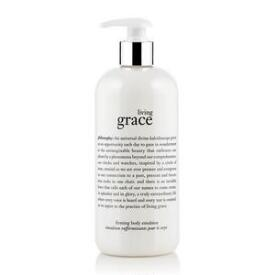 philosophy living grace firming body emulsion creams