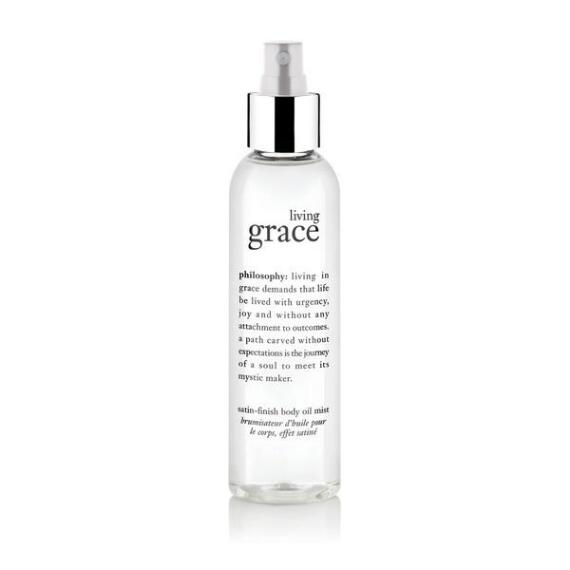 philosophy living grace body oil