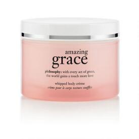 philosophy amazing grace whipped body creme moisturizing creams