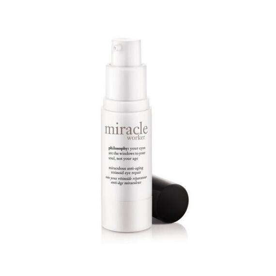 philosophy miracle worker eye cream with HPR