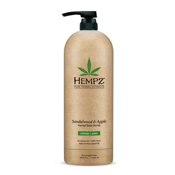 Hempz Sandalwood & Apple Body Scrub Liter