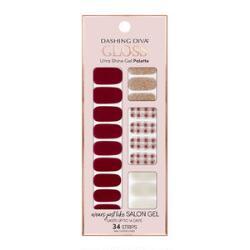 Dashing Diva Ultra-Shine Gloss Shine Gel Nail Strips